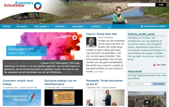 Website Schuttelaar&partners